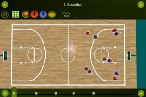 Basketball – Coach mode – landscape