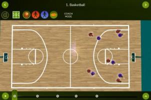 Basketball – Coach mode – landscape