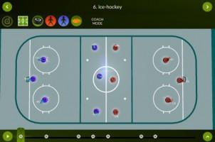 Ice Hockey – Coach mode – landscape