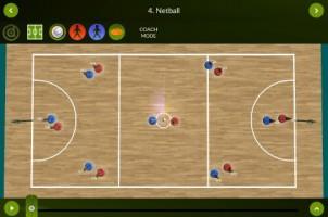 Netball – Coach mode – landscape