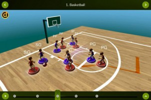 View mode – Basketball – landscape