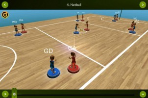 View mode – Netball – landscape