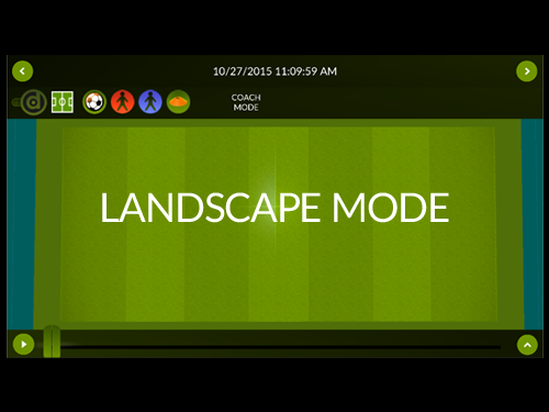 Use drllz in Landscape mode