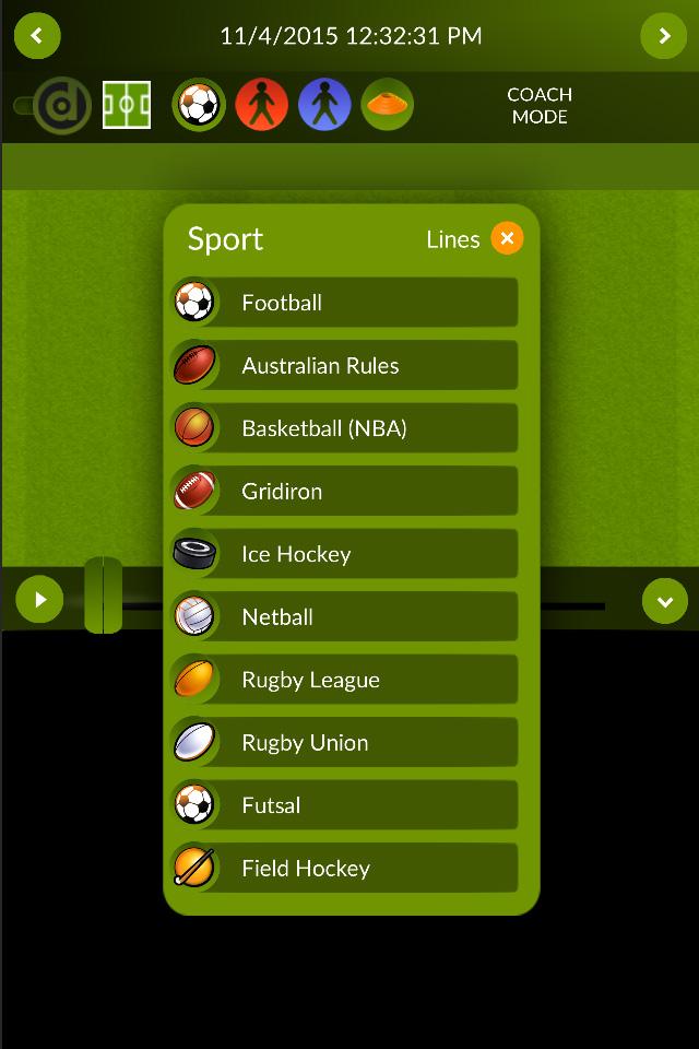 Futsal and Field Hockey added